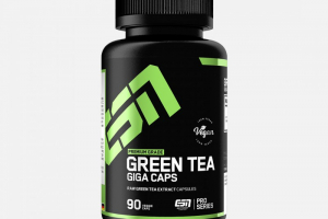 ESN GREEN TEA GIGA CAPS, 90 KAPS